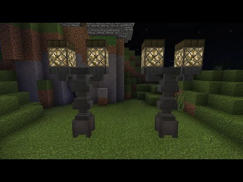 How To Make A Medieval Lamp Post Minecraft Pocket Edition