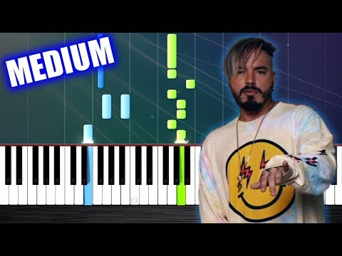 how to play mi gente on piano