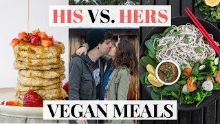 What A Vegan Couple Eats In A Day #5 | EASY VEGAN Recipes
