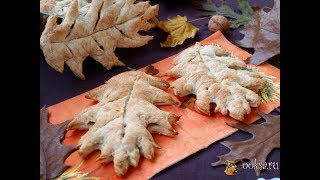 Слойки с айвой и грецкими орехами  Пошаговый рецепт выпечки