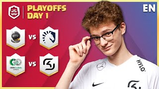 Clash Royale League: CRL West 2020 Spring | PLAYOFFS Day 1! (English)