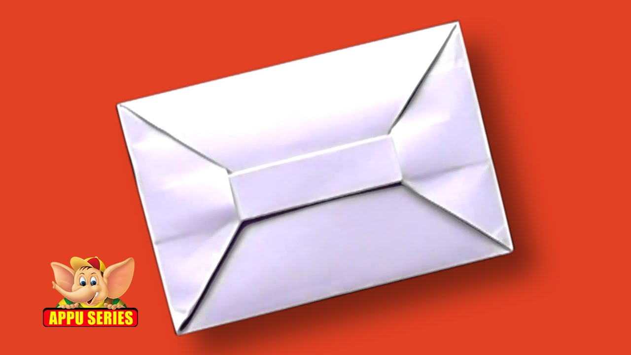 Origami - How to Make an Envelope (HD) - YouTube