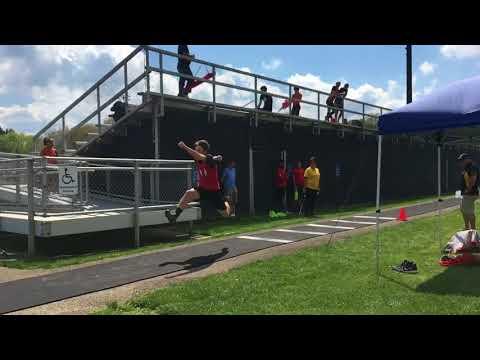 "Brian Phillips -Triple Jump 43' 9"""