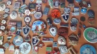 Коллекция значков юного коллекционера