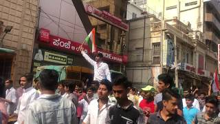 Protest against terrorism (Pulwama attack rage)- 2019
