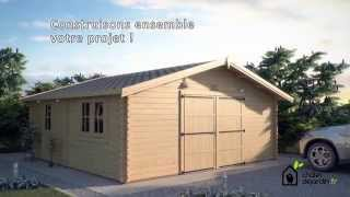 Votre garage en bois et votre espace de stockage | Chaletdejardin.fr