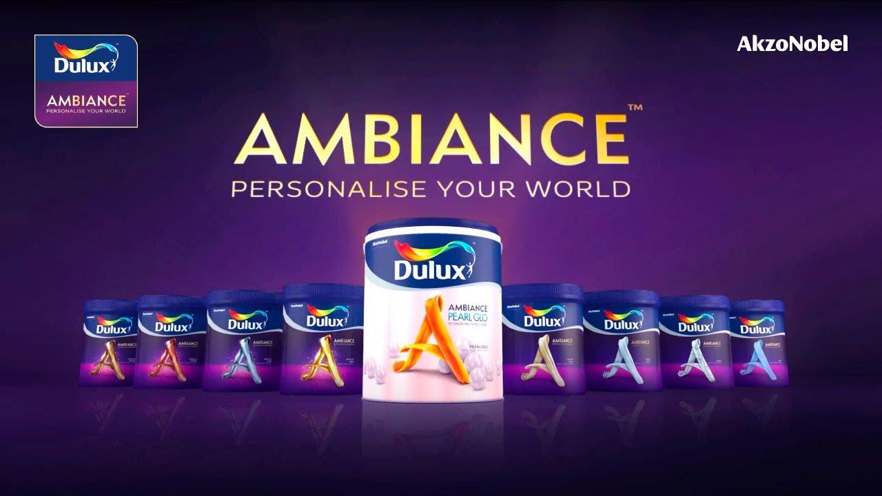 Dulux Ambiance Product Range Youtube
