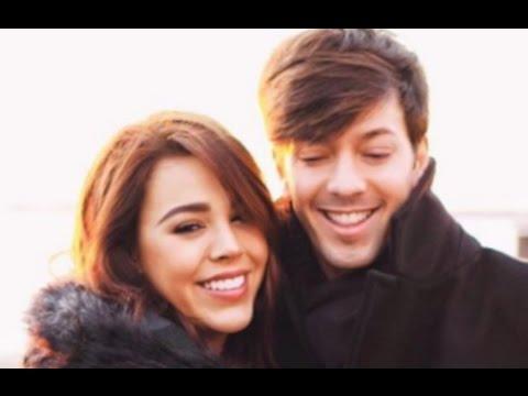 ¿Danna Paola y Roger Gonzalez novios? ¿Fantasma en ...