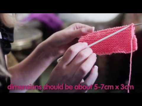 The innocent big knit - how to knit a little hat