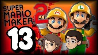 Mario Maker 2: Story Mode - Ep. 13 - Dumb Speedrun Level - FakeGamersClub