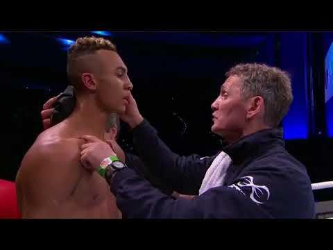 perugino giuseppe  vs Ben Whittaker (subisce un TKO )