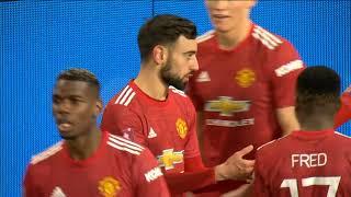 Majstorski Gol Bruna iz Slobodnog Udarca za Pobedu   Man utd vs Liverpool   SPORT KLUB FUDBAL