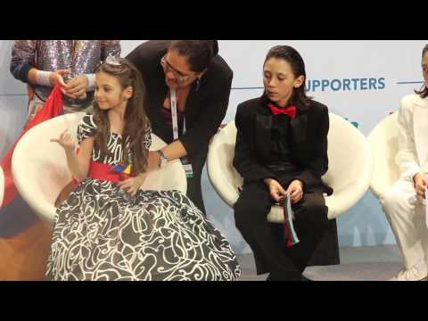 ESCKAZ live in Malta: Press-conference with Vincenzo Cantiello, Krisia and Betty