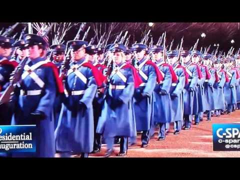 VMI at Presidential Inauguration Parade