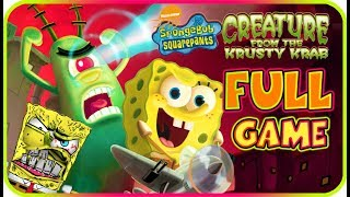 SpongeBob SquarePants: Creature From The Krusty Krab FULL GAME Longplay (PS2, GCN, Wii)