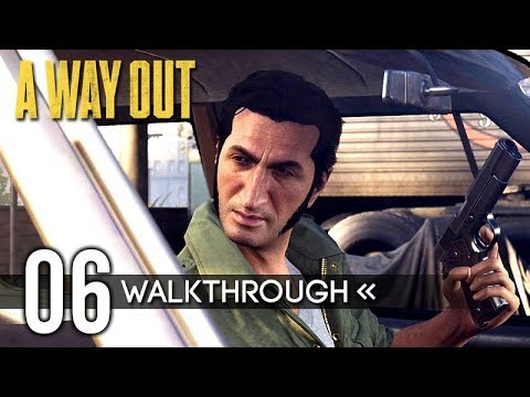 A WAY OUT | Part 6 - Construction Site / Store | Gameplay Walkthrough / No Commentary 【Full Game】