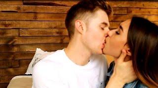 Как поцеловать парня в губы первый раз