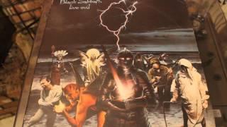 BLACK SABBATH - PARANOID - LIVE EVIL LP - DIO