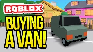 BUYING A VAN in ROBLOX DELIVERY SIMULATOR