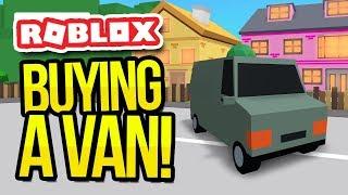 l'acquisto di un furgone in ROBLOX consegna simulatore