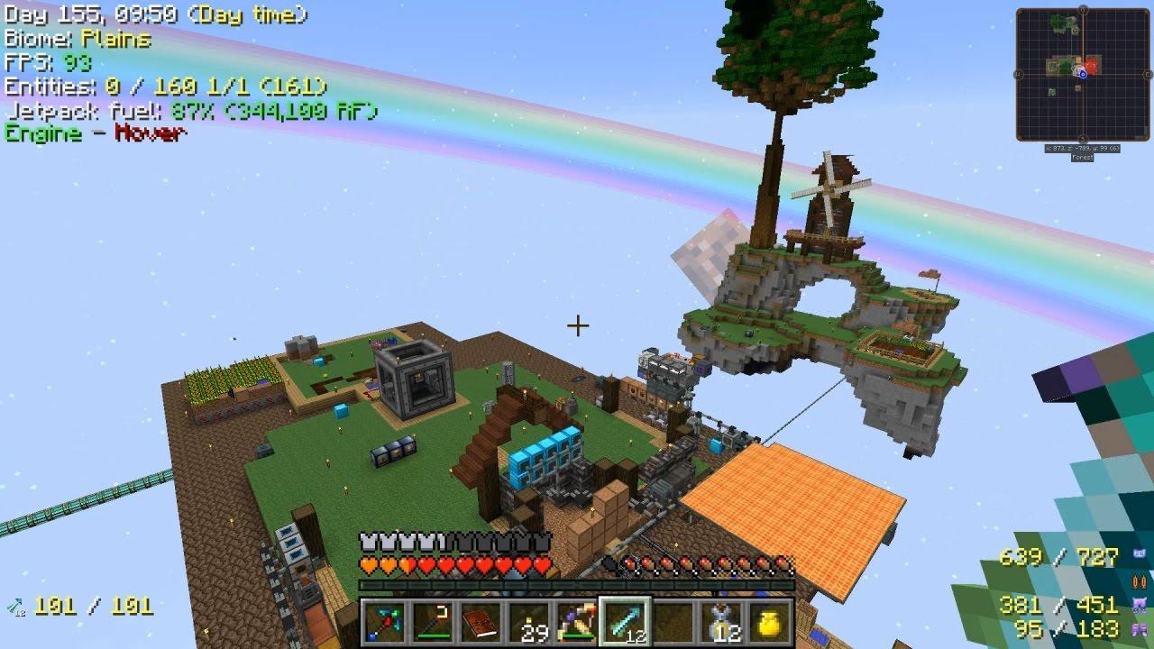 Minecraft - Project Ozone 2 #24: Dragon Chicken Jetpack