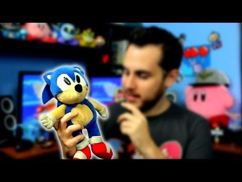 Sonic Plush Makes Iconic Sound