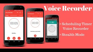 Super intuitive voice recorder for android phone.Sound Recorder And...