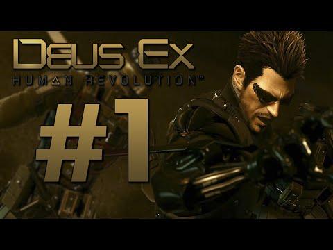 DEUS EX Human Revolution | PARTE 1 | LET'S PLAY ESPAÑOL [HD]