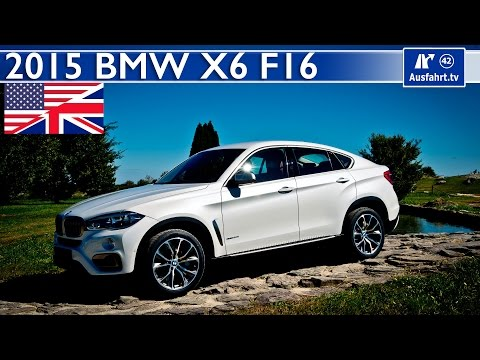 2015 BMW X6 xdrive50i (F16) - Start Up, Exhaust, Test Drive and In-Depth Car Review (English)