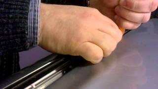 Снятие штатных резинок на Mitsubishi ASX 2012