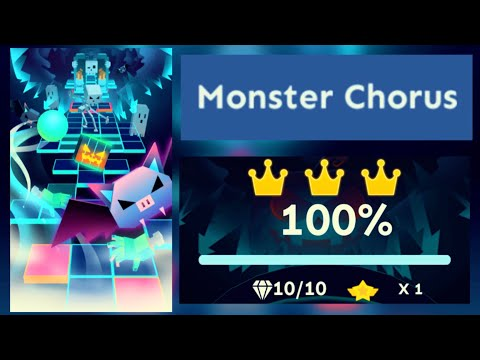 Rolling Sky - Monster Chorus Level 45 [OFFICIAL]