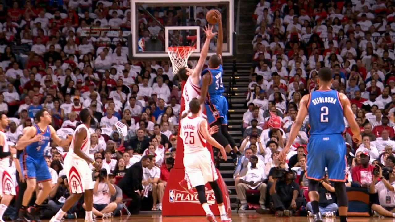 fabae38abf38 Kevin Durant s POSTERIZING dunk on Asik! - YouTube