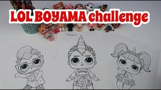 Lol boyama - Babamla lol boyama challenge yapıyorum.
