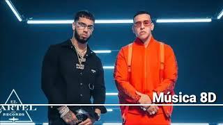 Daddy Yankee & Anuel AA - Adictiva (Video Oficial) (8D Audio) I Música 8D