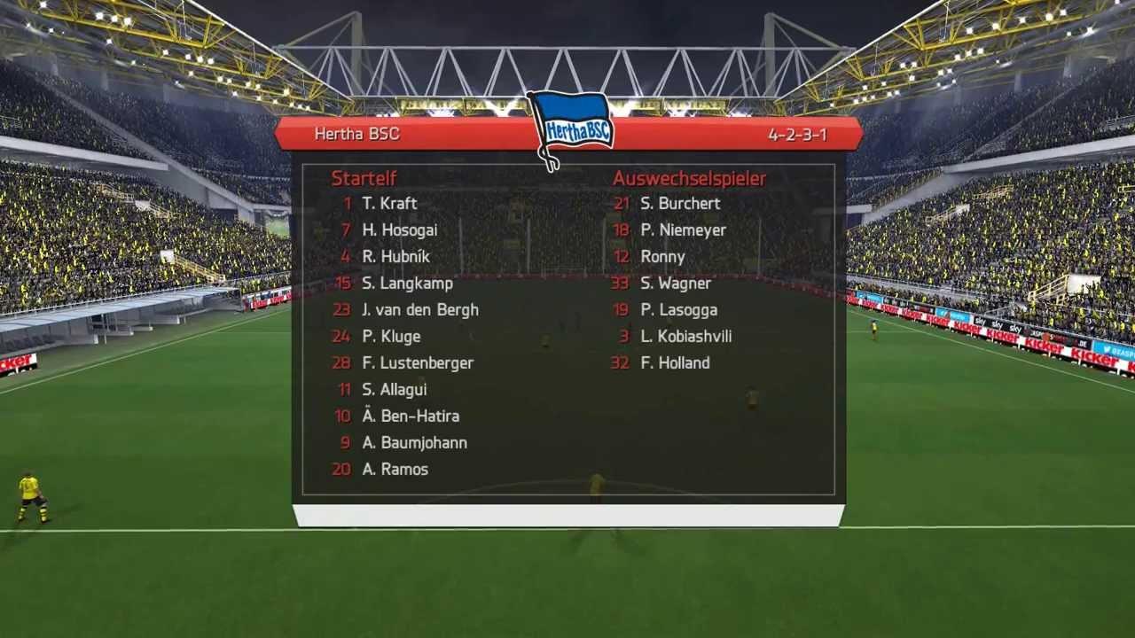 Dortmund Gegen Hertha 2020