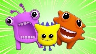 Монстр палец Семья | потешки для детей | Nursery Song | Scary Rhymes | Monster Finger Family