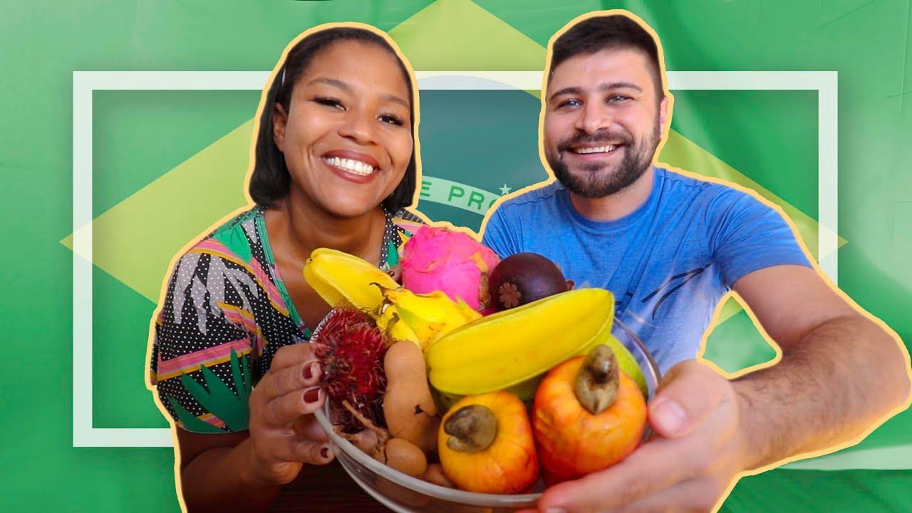 جربنا اغرب الفواكه في امريكا الجنوبية.. لبناني في البرازيل