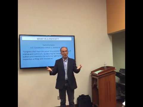 AIN Workshop: Patent Application Process with Andrew Salazar