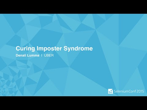 Curing Imposter Syndrome