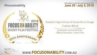 Dulwich High School of Visual Art & Design   Colour Blind