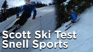 Ski Test Scott Arêches Beaufort Snell Sports Chamonix Mont Blanc - 11759