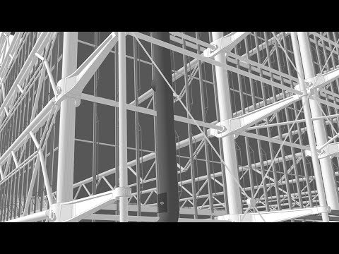 Modeling Georges Pompidou Centre - Architectural Classics Remodeled in ARCHICAD