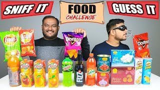 SNIFF IT & GUESS IT FOOD CHALLENGE | Eating Challenge | Food Eating Competition | Food Challenge