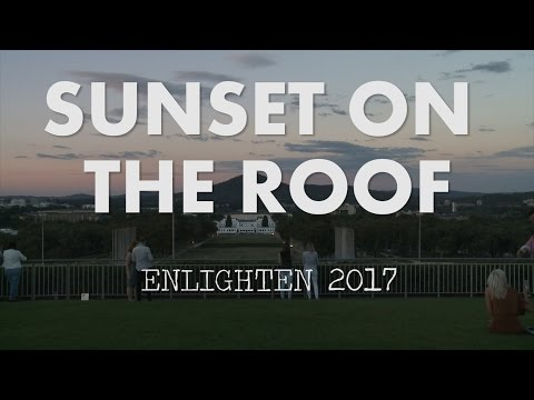 Sunset on the Roof of Parliament House
