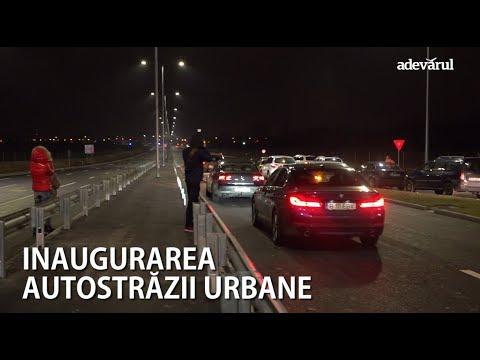 """""""Autostrada urbană"""" a fost inaugurată"""