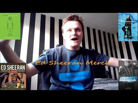 Ed Sheeran Merch Collection