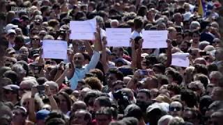 Double attentat en Espagne: le pays se fige pour une minute de silence