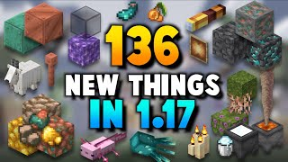 ALL 136 Features iฑ Minecraft 1 17 (Caves And Cliffs)