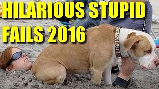 Hilarious stupid funny fail compilation 2016