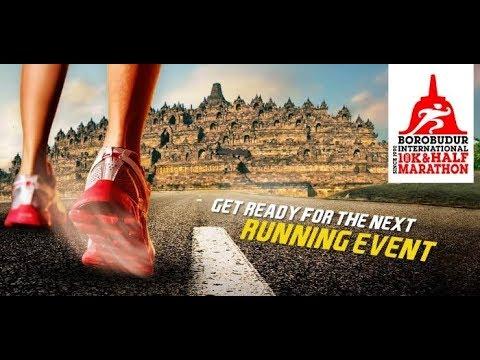 Bersemangat Lari di Borobudur Marathon